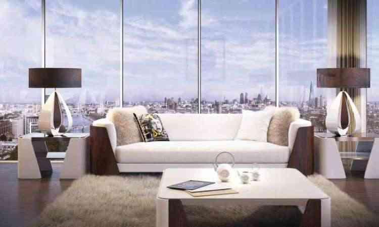 Residencial de luxo Aykon London One montou uma parceria exclusiva com a Versace Home. Todos os apartamentos do empreendimento contam com a opulência do mobiliário e acessórios da marca italiana - Divulgação