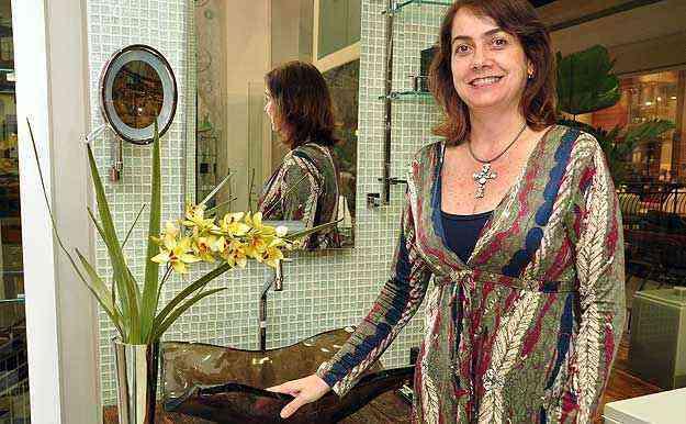 A arquiteta Valéria Alves diz que a qualidade das réplicas vendidas atualmente é perfeita - Eduardo de Almeida/RA studio