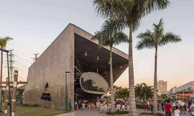 A nave do conhecimento, no Rio de Janeiro, foi produzida pela RioUrbe - divulgação / Architizer