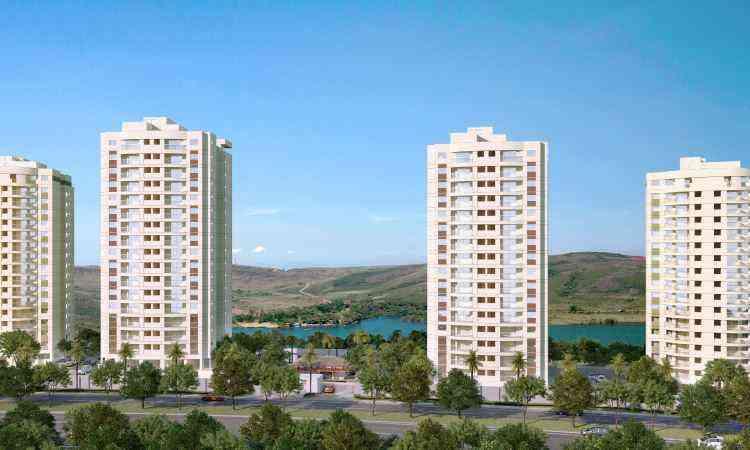 Gaya Construtora, do grupo RKM, fechou parceria com a Paladin para construção do Lótus Condomínio Resort, no Alphaville - RKM Engenharia/Divulgação
