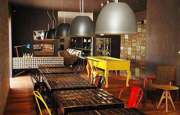 No Bar, de Ana Bahia, um lugar moderno sem paradigmas ou convenções tradicionais - Thiago Ventura/Portal Uai/D.A Press