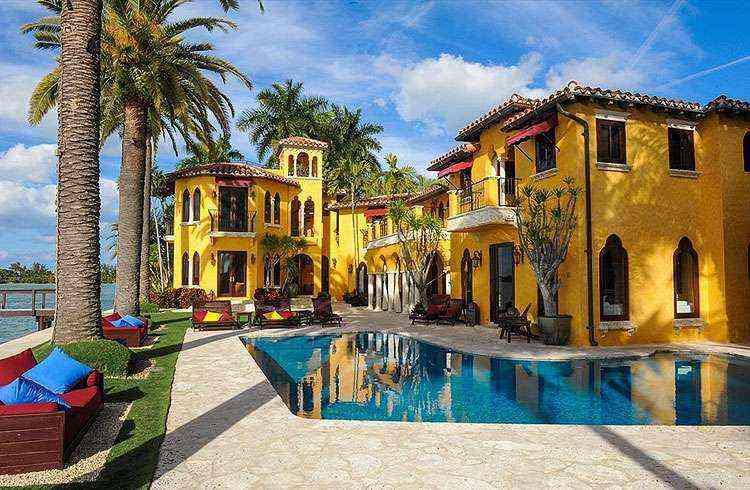 Casa onde viveu Enrique Iglesias - Kevin Luna Studios LLC/Divulgação