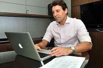 Bruno Lafetá, diretor da construtora e incorporadora AP Ponto, acredita que em cinco anos será difícil encontrar terreno - Eduardo de Almeida/RA Studio