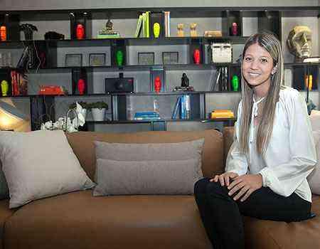 Uma sala conceito é a proposta da estreante Ana Paula Carneiro: o Soft Room - Thiago Ventura/Portal Uai/D.A Press