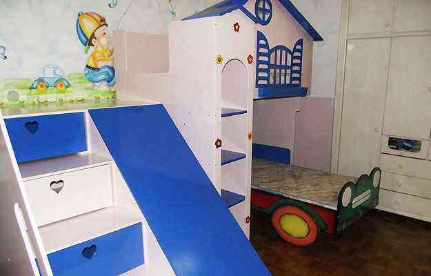 Quartos bem decorados e funcionais acompanham o desenvolvimento da criança - Amanda de Peta/Divulgação