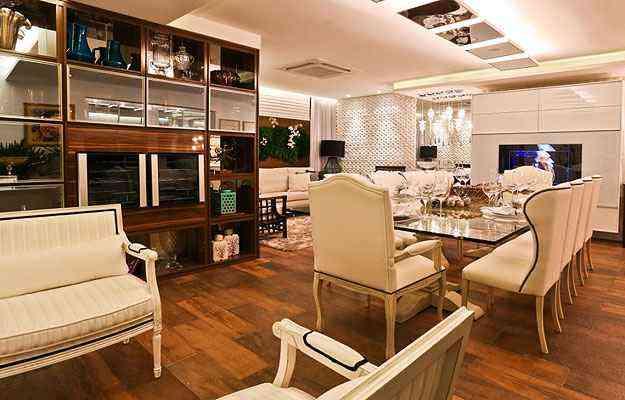 Sala de Jantar homenageia Gilberto Gil misturando elementos regionais a itens sofisticados - Yuji Sogawa/Dois A Arquitetura e Interiores/Divulgação