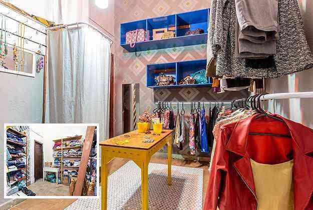 O ambiente do bazar renasceu pelas mãos de Priscila da Mata - Osvaldo Castro/Divulgação