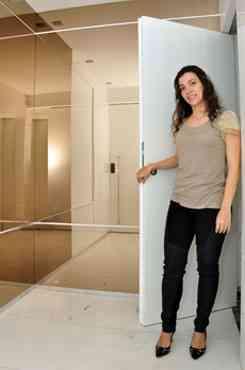 A arquiteta Natacha Nascif diz que local é um convite às visitas - Eduardo de Almeida/RA studio