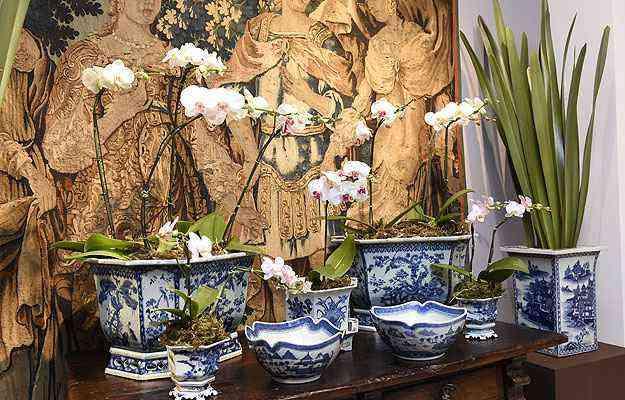 Vasos e bowls de porcelana Imari japonês, do seculo 19 - Gladyston Rodrigues/EM/D.A Press