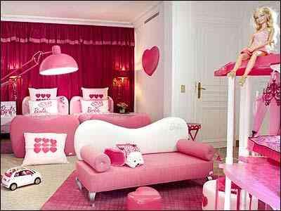 Os dois quartos são totalmente na cor rosa - François Fleury/Hotel Plaza Athénée