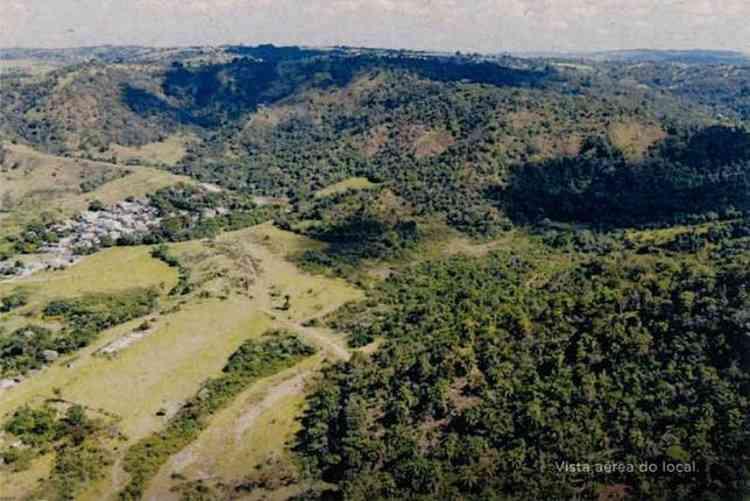 Vista aérea do empreendimento que será erguido em Pedro Leopoldo - Reserva da Barra/Reprodução