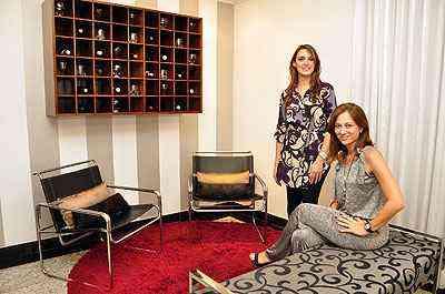 Laura Santos e Fabiana Visacro defendem ambientes mais leves, com o jeito de viver de cada um - Eduardo de Almeida/RA Studio