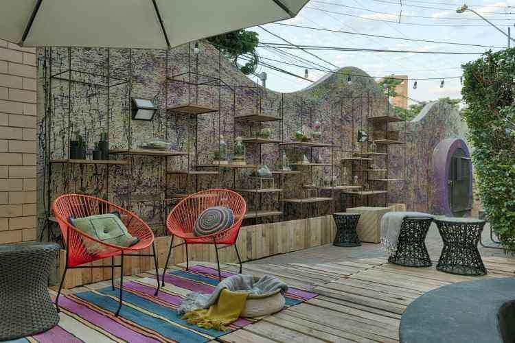 Jardim da Vila Urbana, de Jordana Cotta e Bárbara Chaves - Gustavo Xavier/Divulgação