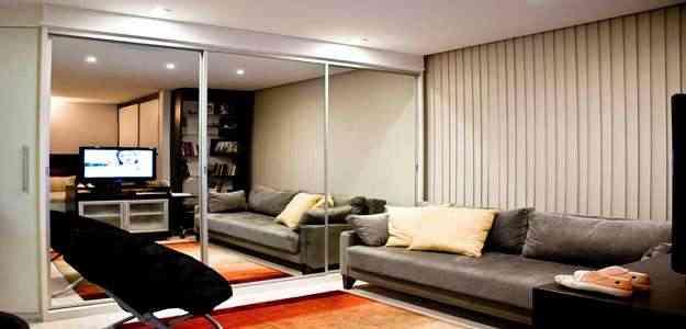 Uso de espelhos é indicado para ampliar espaços -