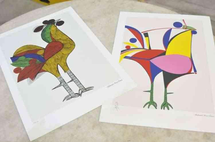 A feira abre espaço para as mais diversas expressões artísticas - Juarez Rodrigues/EM/D.A Press