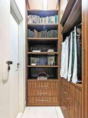 Projeto sob medida do arquiteto Cioli Stancioli privilegia os compartimentos dos armários - Osvaldo Castro/Divulgação