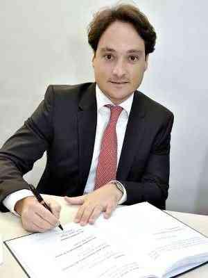 Breno Donato, vice-presidente das corretoras da CMI/Secovi-MG - Carlos Olímpia/Divulgação