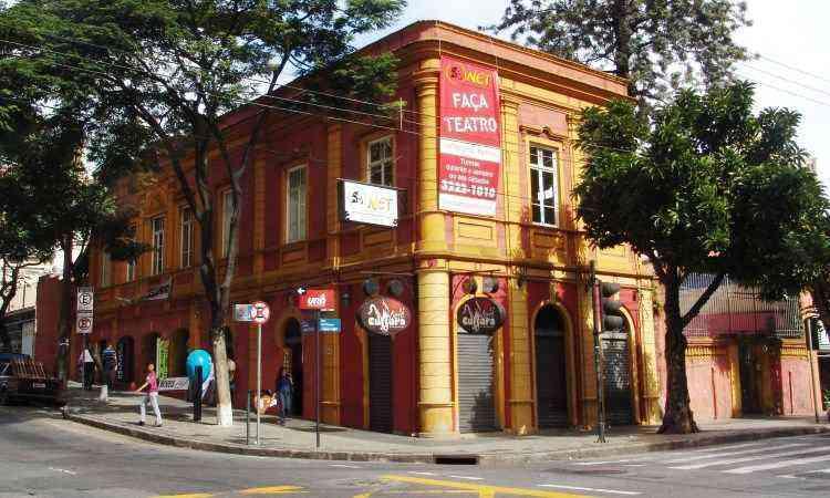 Em 2005, fachada do prédio na esquina da Rua da Bahia com Rua Timbiras - Marcos Michelin/EM/D.A. Press 29/06/2005