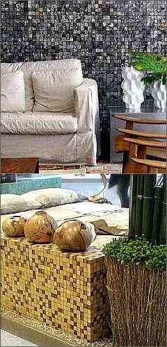 Produtos ecológicos dão um toque especial nos ambientes - Ibiza Acabamentos/Divulgação