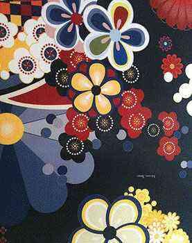 Detalhe do revestimento de tecido da estilista Adriana Barra no ambiente Family Room na Casa Cor 2012 - Maria Júlia Lledó/CB/D.A Press