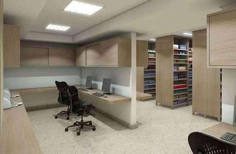 É de Lauro Miquelin a assinatura do design de interiores da nova unidade do hospital Mater Dei em BH - L M/Divulgação