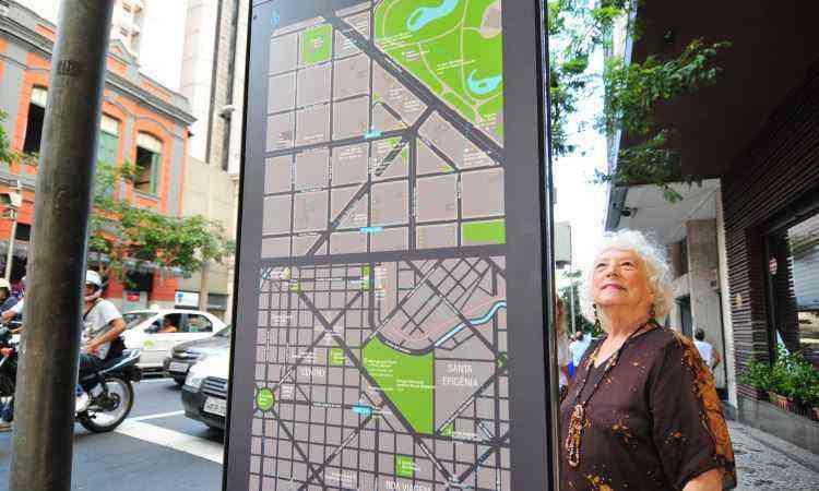 Lourdes Müller, de 82 anos, teve uma surpresa ao se deparar com as informações - Alexandre Guzanshe/EM/D.A Press