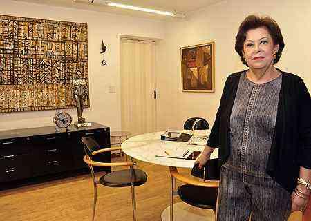 Para Sandra Penna, o conforto do ambiente empresarial aumenta ainda mais o rendimento dos colaboradores - Eduardo Almeida/RA Studio