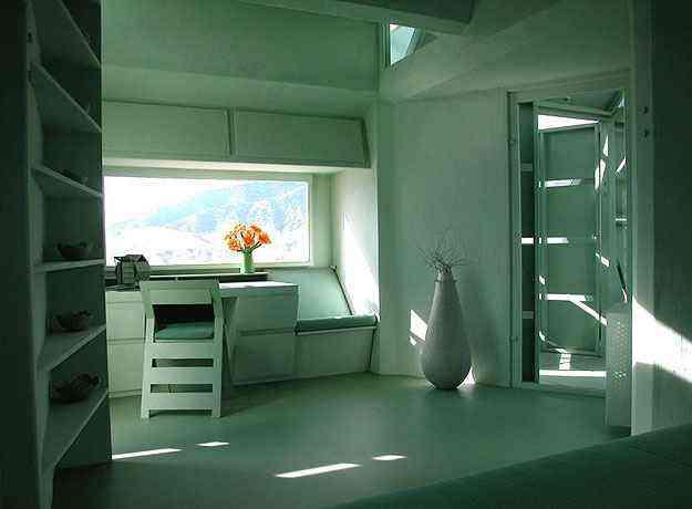 Interior da construção: entradas de luz também podem ser modificadas - Michael Jantzen/Divulgação