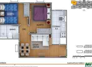 Apartamento, 2 Quartos, 1 Vaga em Quadra Qnm 29, Ceilândia Sul, Ceilândia, DF valor de R$ 245.000,00 no Lugar Certo