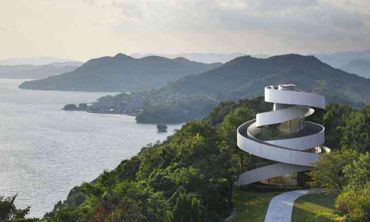 Resort em Hiroshima investiu na arquitetura conceitual para encantar noivas  - NAP Architets/Divulgação