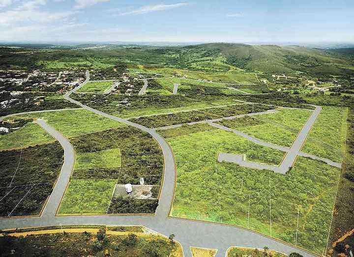 Lagoa Mansões Fase 2, empreendimento do Grupo EPO em Lagoa Santa, está sendo lançado hoje com infraestrutura completa em meio à área verde - Grupo EPO/Divulgação