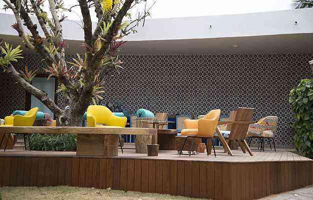 No Terraço 54, um local para um encontro descontraído em um happy hour - Thiago Ventura/EM/D.A Press