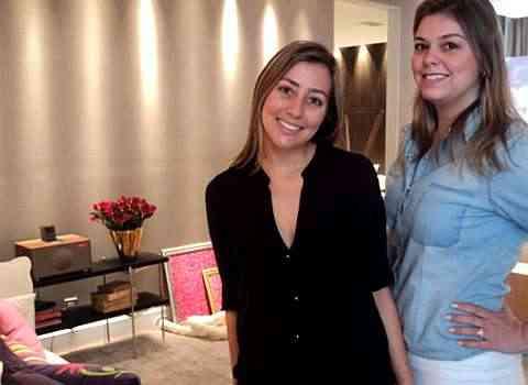 No Escritório da Blogueira, das arquitetas Virgínia Reis e Bruna Figueiredo,  um local de trabalho e descanso - Joana Gontijo/Portal Uai/D.A Press