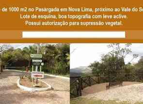 Lote em Passárgada, Nova Lima, MG valor de R$ 190.000,00 no Lugar Certo
