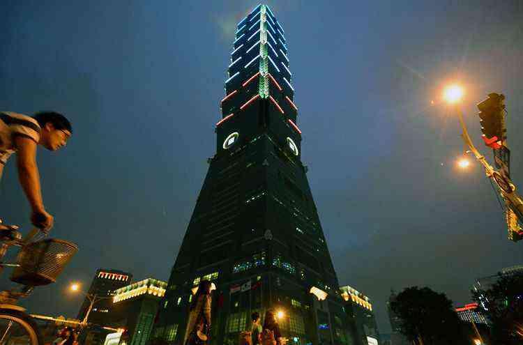 Taipei 101, em Taiwan, na China - Sam Yeh/AFP