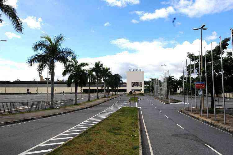 O Expominas é um dos principais pontos de referência do Bairro Gameleira - RAMON LISBOA/EM/D.A PRESS