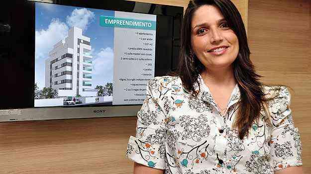Luciana de Castro, da Contrutora Carrara, destaca a importância da infraestrutura - Eduardo de Almeida/RA Studio