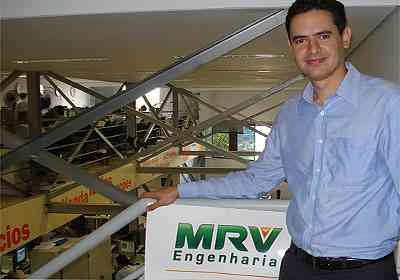Rodrigo Resende, diretor da MRV, aposta em cidades de pequeno porte - Sandramara Damasceno/Divulgação