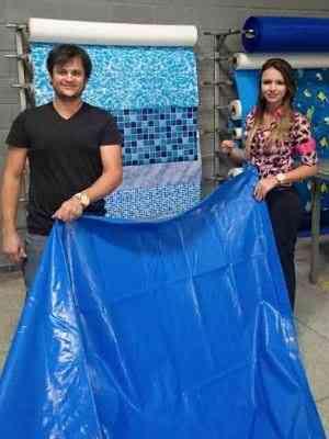 Santos e Camila de Paula dão um ano de garantia para os produtos que comercializam - Fortal Piscinas/Divulgação
