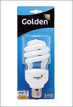 Menores que as espirais tradicionais, novos modelos de lâmpadas da Golden oferecem várias possibilidades de aplicação - Golden/Divulgação