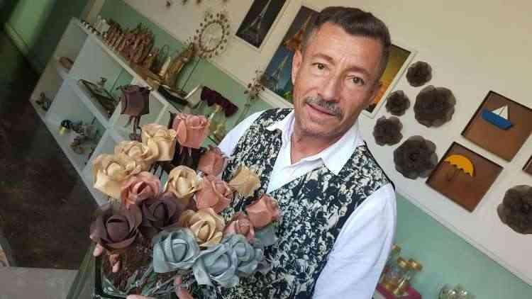 Engenheiro por formação, Aluízio tem mesmo é amor pela arte  - Carlos Altman/EM/D.A Press