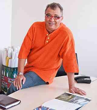 Marcos Ribeiro, diretor da Casa Amarela Imóveis, diz que os residenciais privilegiam a natureza - Fábio Cançado/Divulgação