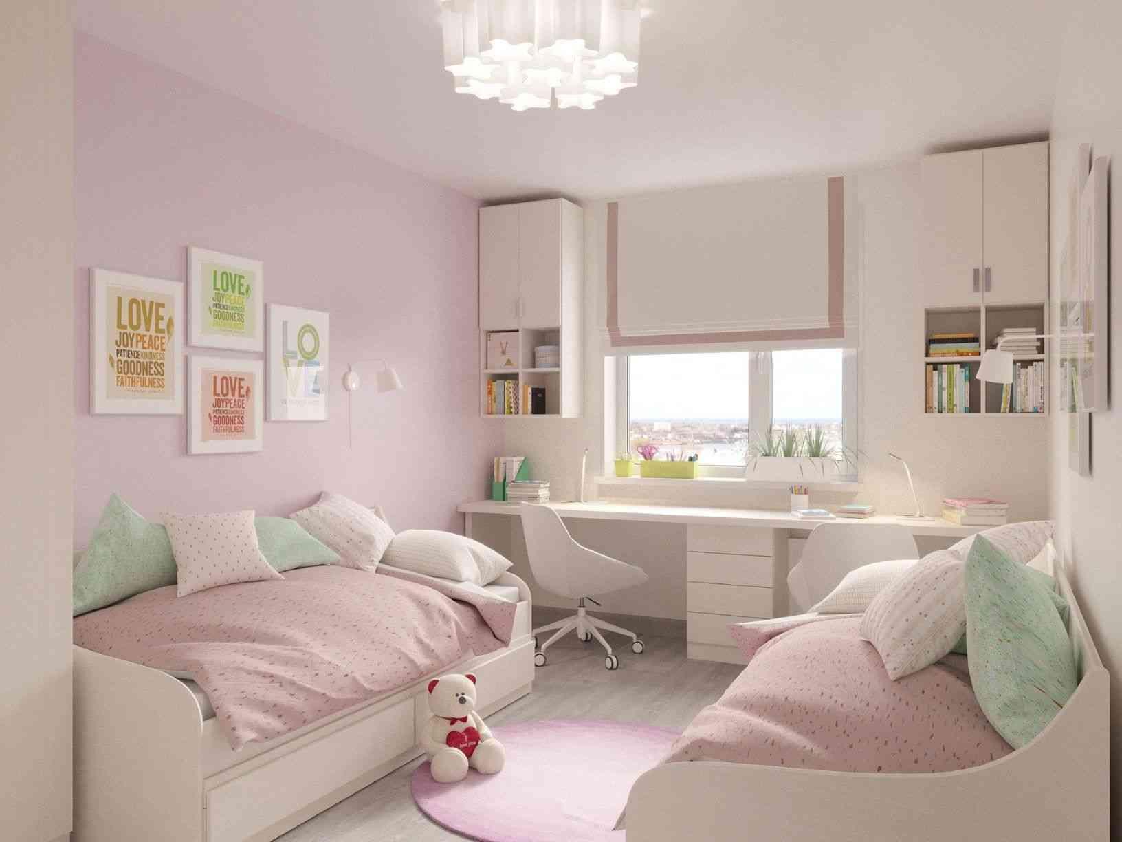 Modelo de quarto infantil pequeno - Pixabay