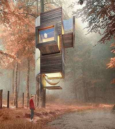 Triumph Architectural Treehouse Award/Divulgação