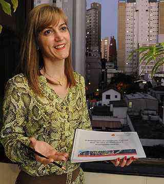 Ieda Vasconcelos, do Sinduscon-MG, considera as medidas positivas - Marcos Vieira/EM/D.A Press