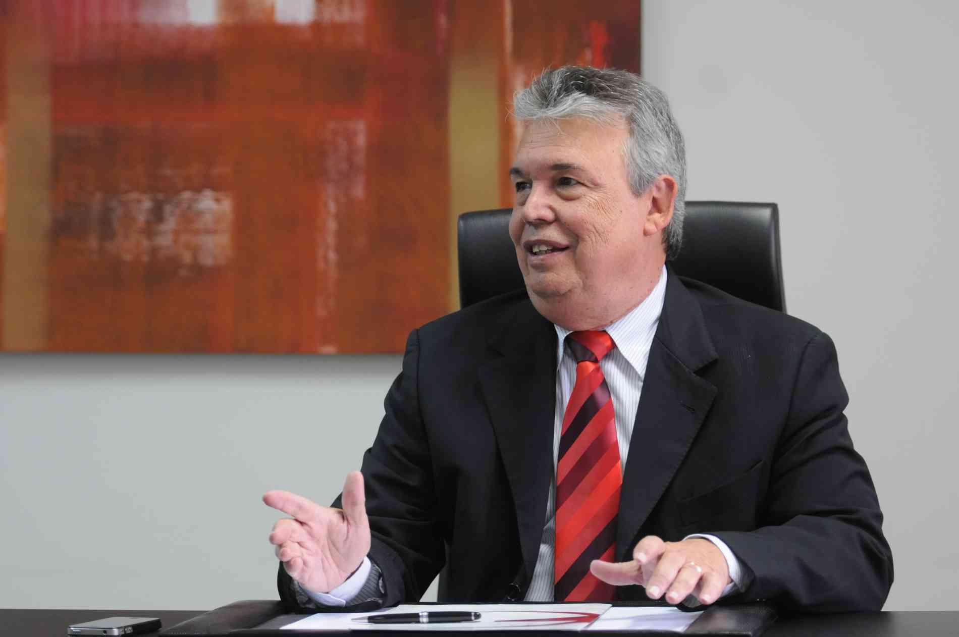 Geraldo Linhares, presidente do Sinduscon-MG - Sinduscon-MG/Divulgação