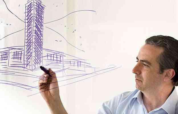 Arquiteto e urbanista Bernardo Falkasvolgyi, responsável pelo desenho do edificio - Divulgação/FalKasVolGyi