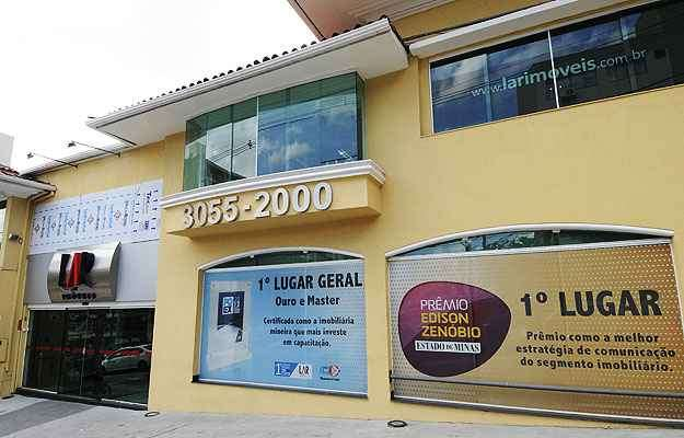 Na edição anterior, a Lar Imóveis conquistou o 1º lugar na categoria 'Imobiliárias e corretoras' - Jair Amaral/EM/D.A Press