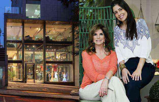 Kátia toca o negócio com a filha Patrícia, companhia de viagens em busca da vanguarda em design - Arquivo Pessoal