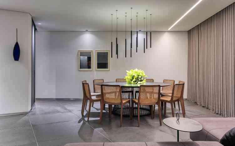 No apartamento AP, a grande ideia é a integração entre os ambientes - Gustavo Xavier/Divulgação